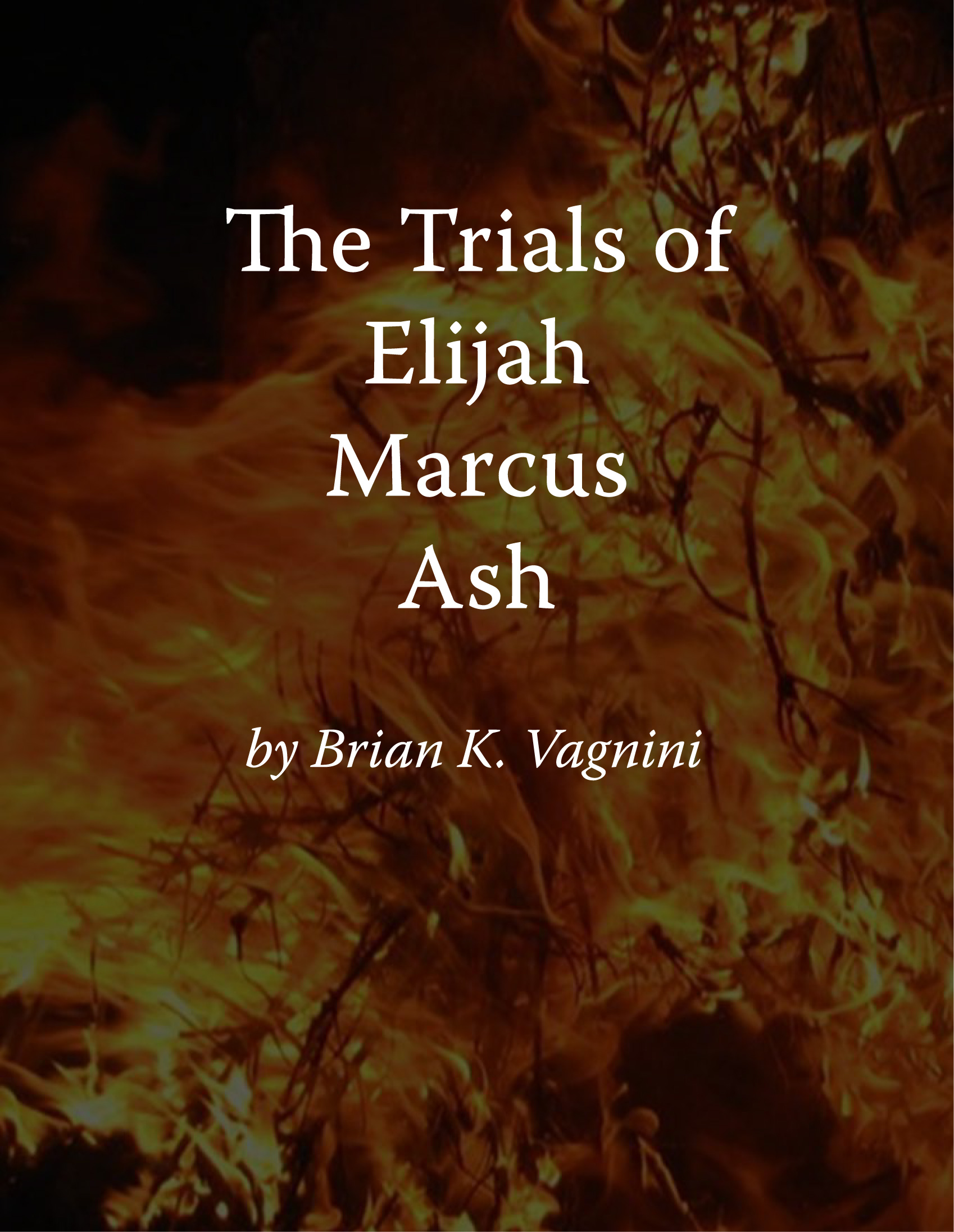 Cover of The Trials of Elijah Marcus Ash book, book 2